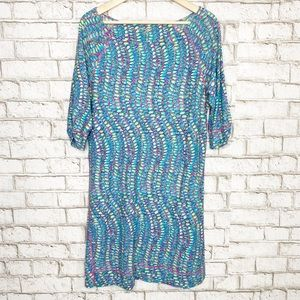Lilly Pulitzer Cassie tunic dress in clambake